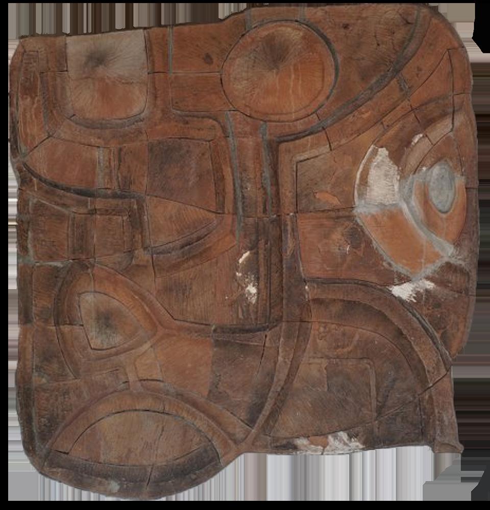 Terre cuite. Oeuvre de Victor Anicet à l'Institut Martiniquais d'Etudes de Fort de France