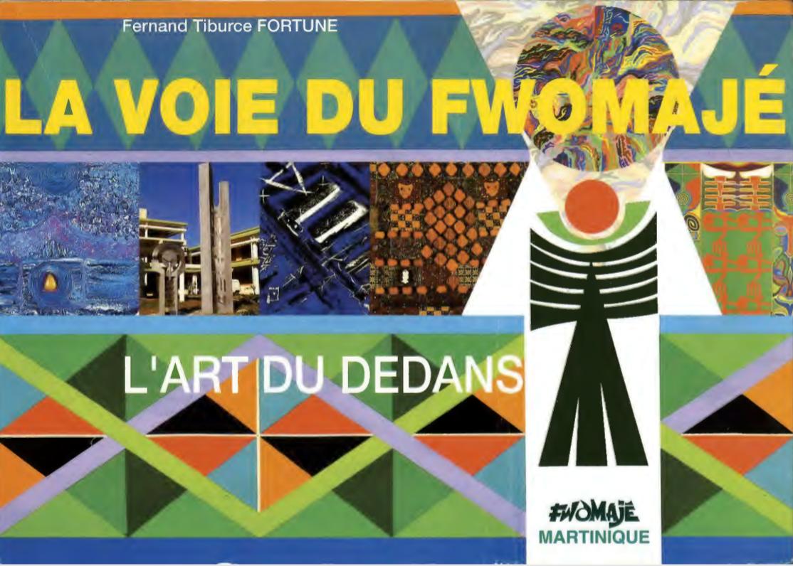 La voie du Fwomajé, un livre de Ferand Tiburce Fortuné, retraçant la vie de Victor Anicet. Texte de 1991