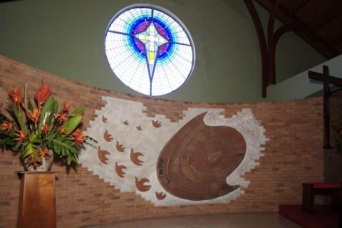 Terre cuite église de Schoelcher