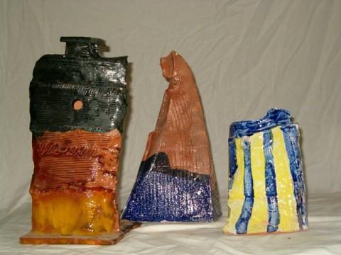 Trois poteries