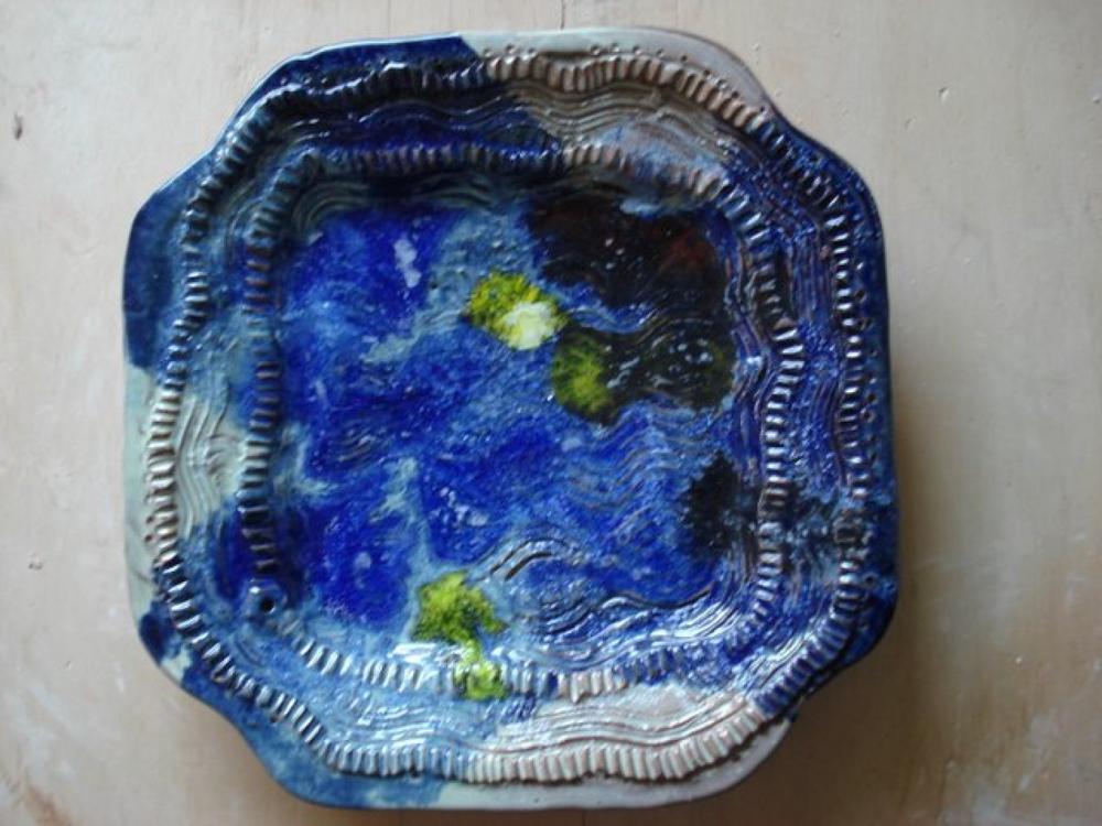 Céramique de l'artiste martiniquais Victor Anicet